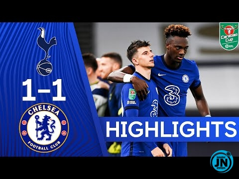 Carabao Cup -Spurs 1-1 Chelsea | Spurs Win On Penalties!